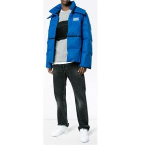 Off-White Reflective Puffer Jacket
